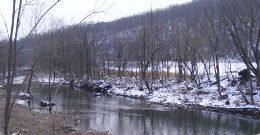 Coal Creek in Leslie