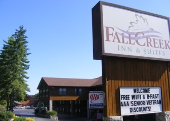 Hwy 165 Motels Fall Creek Inn