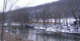 Coal Creek in Leslie