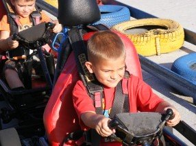 Coy in Go Cart 457585