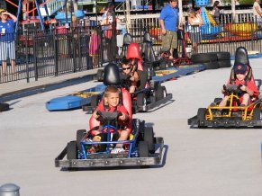 Go Cart Fun at Track 4