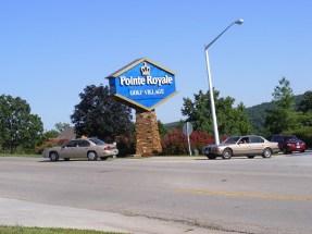 Point royale entrance